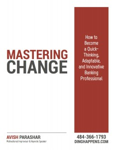 Mastering Change for Bankers