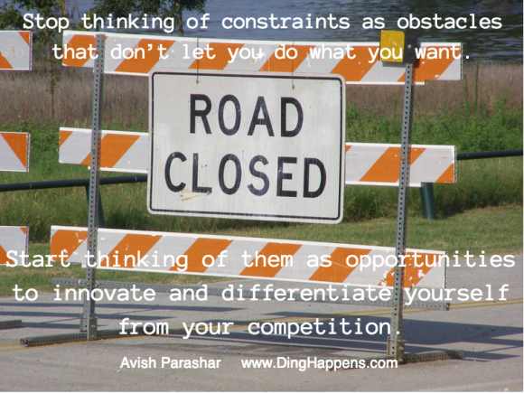 Constraints - Road Closed