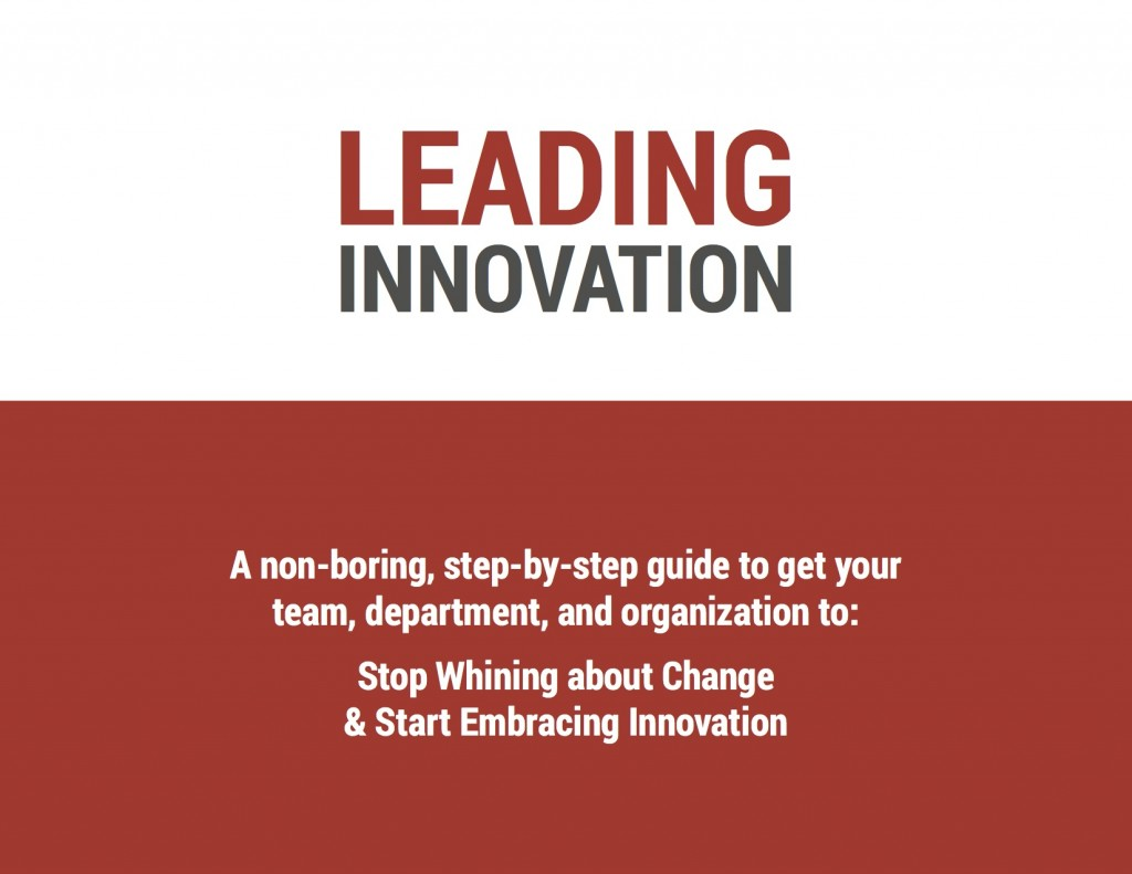 Leading Innovation Cover