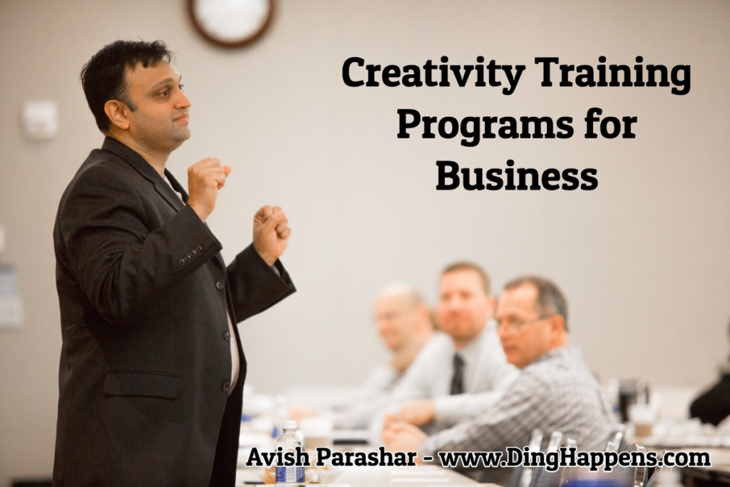creativity training programs for business